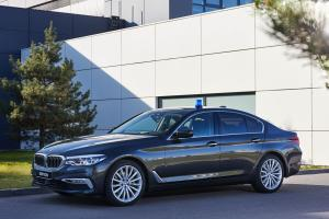2017 BMW 520d Sedan Luxury Line Security